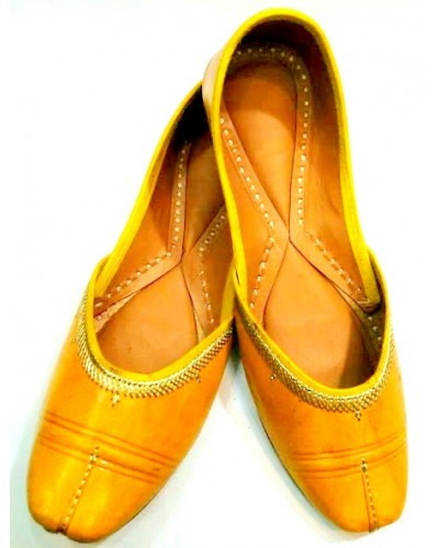 Yellow Japuri Jutti