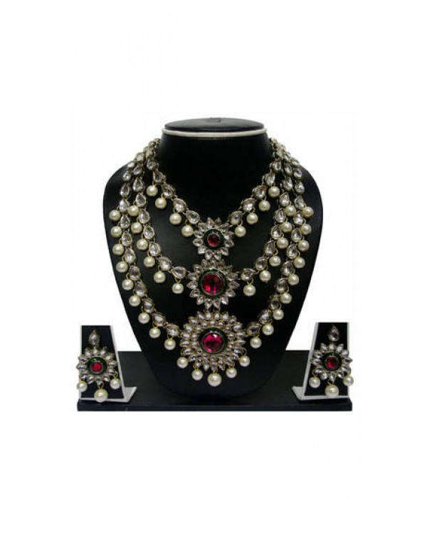 Pearls Multi Necklace Set