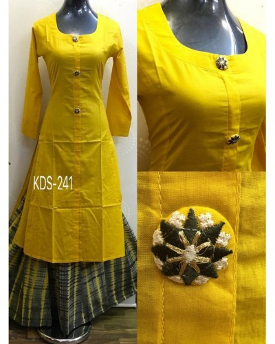 Yellow Ethnic Dress