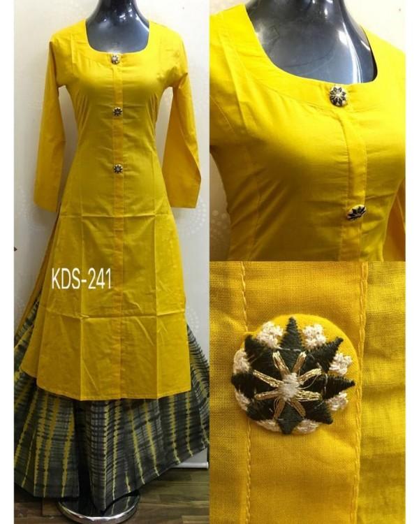 Yellow Ethnic Dress