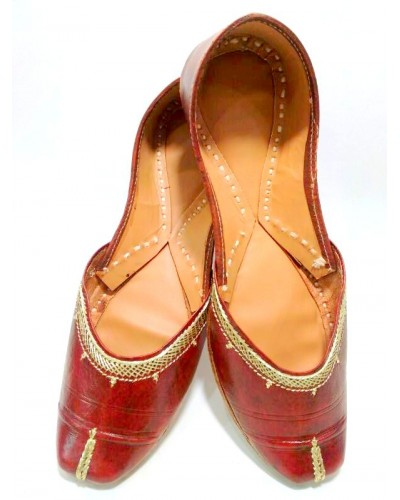 Leather Punjabi Jutti