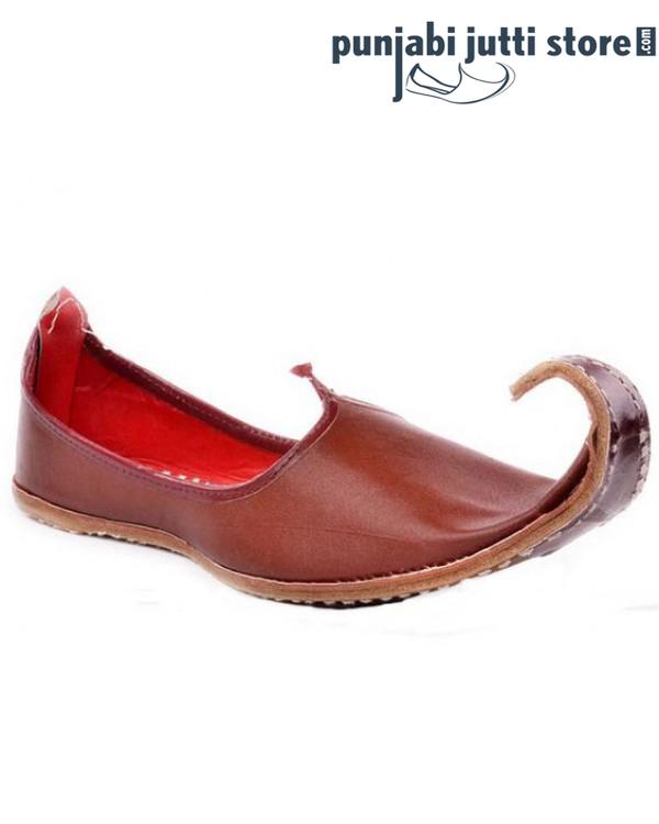Designer Brown Khussa